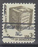 USA Precancel Vorausentwertung Preo, Locals North Carolina, Cedar Mountain 843 - Vereinigte Staaten