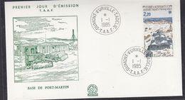 TAAF 1985 Base De Port-Martin 1v FDC  (37273) - FDC