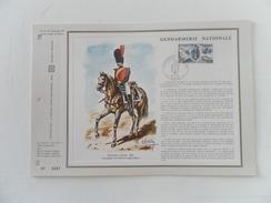 FRANCE FEUILLETS CEF121 GENDARMERIE NATIONALE - 1970 - 1970-1979