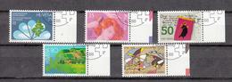 1988  N° 758 à 762  OBLITERES      CATALOGUE  ZUMSTEIN - Suisse