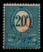 ABSTG OBERSCHLESIEN Nr 11cIIa Postfrisch X6CC1DA - Germany