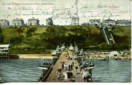 The Leas & Lifts From Victoria Pier, Folkstone 1906 (003094) - Folkestone