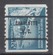 USA Precancel Vorausentwertung Preo, Bureau North Carolina, Charlotte 1045A-71 - Vereinigte Staaten