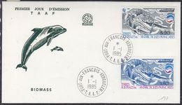 TAAF 1985 Biomass 2v FDC  (37275) - FDC