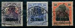 BES 1WK D-MV RUMÄNIEN Nr 1-3 Gestempelt X6CE34E - Besetzungen 1914-18