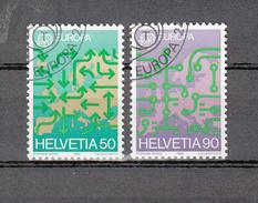 1988   N°763-764   OBLITERES      CATALOGUE  ZUMSTEIN - Suisse