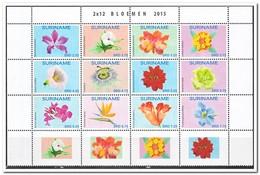 Suriname 2015, Postfris MNH, Flowers - Suriname
