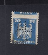 Dt. Reich 20 Pfennig Gestempelt Stark Verzähnt - Gebraucht
