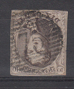 BELGIË - OBP - 1858 -  Nr 10/A? - (P 75 - LOKEREN) - (4 Randen) - Postmark Collection