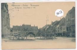 CPA -68 - Mulhouse - Rathausplatz - Mulhouse