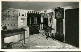 Interior Of Burns' Cottage, Alloway (003097) - Ayrshire