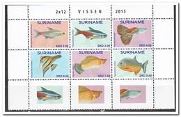 Suriname 2015, Postfris MNH, Fish - Suriname