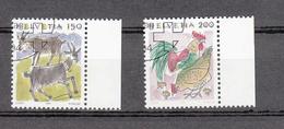 1994/95   N°867-869   OBLITERES      CATALOGUE  ZUMSTEIN - Suisse