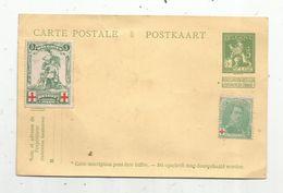 Entier Postal , NEUF , + 2 Timbres , BELGIQUE , BELGIE , Ne Pas Livrer Le Dimanche , Croix Rouge , Vierge - Cartoline [1909-34]