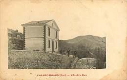 130118 - 30 CHAMBORIGAUD Villa De La Gare - Chamborigaud