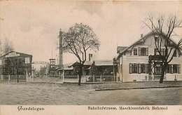 130118 - ALLEMAGNE GARDELEGEN Bahnofstrasse Maschinenfabrik Behrend - Usine - Germania