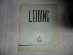 "1 X  "" LEIDING "" 1943 Vlaamse Beweging  V.N.V. Dietsche Militie Blokleider Vlaams - Duitse Arbeidsgemeenschap - War 1939-45"