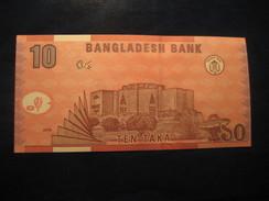10 Taka 2006 BANGLADESH Unused UNC Banknote Billet Billete - Bangladesh