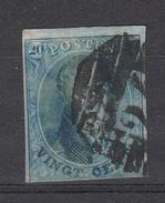 BELGIË - OBP - 1858 -  Nr 11/A? - (P 24 - BRUXELLES) - Postmark Collection