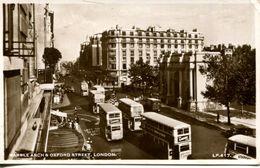 Marble Arch & Oxford Street, London 1952 (003101) - London