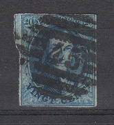 BELGIË - OBP - 1858 -  Nr 11/A? - (P 45 - GAND) - (4 Randen) - Postmark Collection