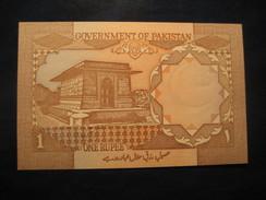 1 Rupee PAKISTAN Unused UNC Banknote Billet Billete - Pakistan