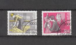 1988/90    N° 972-974   OBLITERES      CATALOGUE  ZUMSTEIN - Suisse