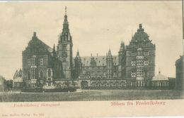 Hillerød; Frederiksborg Slotsgaard (Hilsen Fra Frederiksborg) - Not Circulated. (No. 162 - Jens Møller) - Danemark