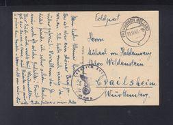 Dt. Reich Feldpost 1943 Preussisch Holland Maximilian Von Haldenwang - Briefe U. Dokumente