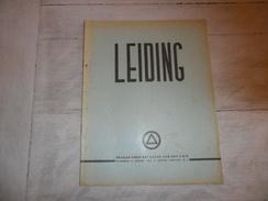 """1 X  """" LEIDING """" 1944 Vlaamse Beweging  V.N.V. Dietsche Militie  Vlaamsche Wachtbrigade - Duitse Arbeidsgemeenschap - War 1939-45"""