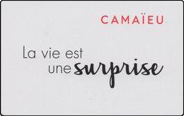 ## Carte  Cadeau   CAMAIEU (Noêl 2017)  ##  Gift Card, Giftcart, Carta Regalo, Cadeaukaart - Cartes Cadeaux