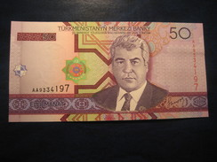 50 Manat 2005 TURKMENISTAN Horse Unused UNC Banknote Billet Billete - Turkménistan