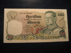 20 Bath THAILAND Thailande Unused UNC Banknote Billet Billete - Thaïlande