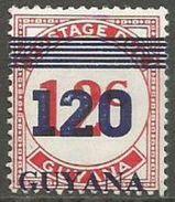 Guyana  - 1984 Postage Due Surcharge 120/12c MNH **  SG 1401 - Guyana (1966-...)