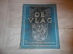"""Kerstnummer """"De Vlag""""  1942 Vlaamse Waffen SS Vrijwilligers Gebroeders Wouters - Gevallen Voor Führer - Bijlage - War 1939-45"""