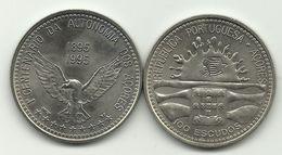AZORES - 100 ESCUDOS - KM#47 - CENTENNIAL OF AZOREN AUTONOMY - 1995. - Portugal