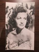 Margaret Rockwood - English Actress - Künstler