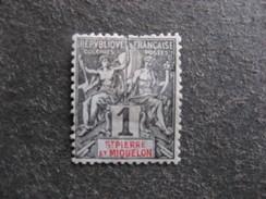 A). Saint Pierre Et Miquelon:  N° 59, Neuf X . - St.Pierre Et Miquelon