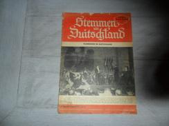 Stemmen Uit Duitschland 1943 - Vlamingen - Hitler - Vinnitsa Rusland Russie - Guldensporenslag 1943 Stuttgart - War 1939-45