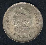 Nepal, 20 Rupees 1975, FAO, Silber - Nepal