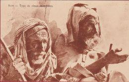Algerie Algerije Algeria Type De Vieux Mendiants Oude Bedelaars Old Beggars Etnique Etnic Africa Afrika Naked Etnisch - Women