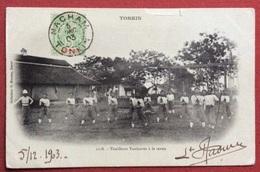 VIET NAM - TONKIN - Fucilieri Tonkinese Con Bastone TONKIN TIRAILLEURS TONKINOIS A LA CANNE  NACHAM TONKIN 5/12/1903 R - Sport Invernali