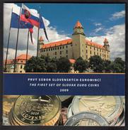 SLOVAKIA  EURO SET 2009 BU FOC Incl. SILVER MEDAL - Slovakia