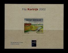 Belgie - Belgique NA  - Postfris - 2002 -  Fila Kortrijk - LUXE UITVOERING - Gekartonneerd - Belgique