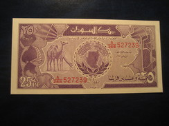 25 Piastres SUDAN Soudan Unused UNC Banknote Billet Billete - Soudan