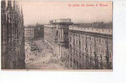 U1385 Cartolina Piccola - MILANO, UN SALUTO DAL DUOMO DI MILANO - Ed Modiano E C. _ NON CIRC._ - Milano
