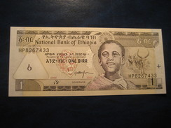 1 Birr 2008 ETHIOPIA Ethipie Unused UNC Banknote Billet Billete Falls - Ethiopie