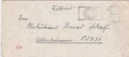 Feldpost WW2: To Charkow In NE Ukraine - Oberleutenant In 2. Batterie Sturmgeschütz-Abteilung 244 FP 02936 P/m Berlin 22 - 2. Weltkrieg