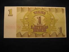 1 Rublis 1992 LATVIA Lettonie Unused UNC Banknote Billet Billete - Lettonie