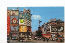 U1395 SMALL POSTCARD 1972 - London > Piccadilly Circus + Bus, Autobus _ WRITED - Piccadilly Circus